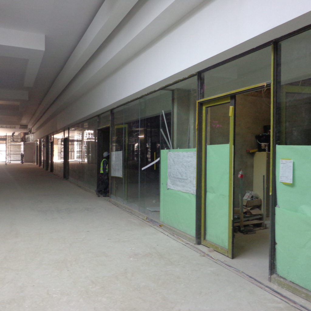 Shops Construction