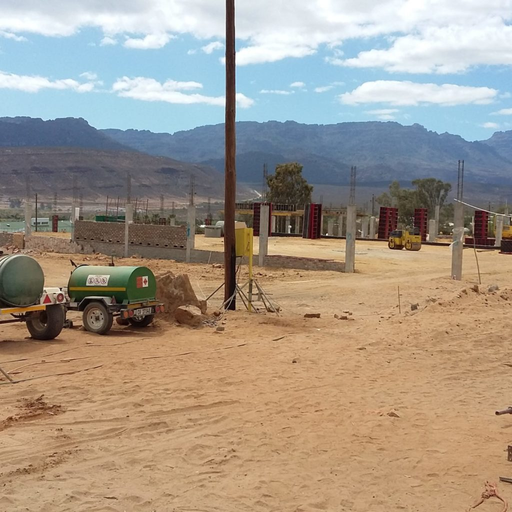 Clanwilliam Field Construction