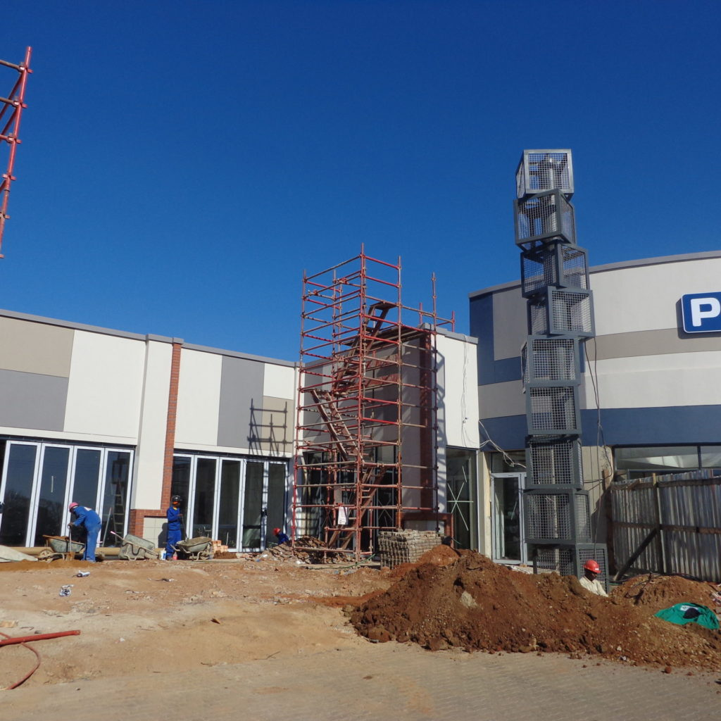 Northcliff Square Construction Work Completed